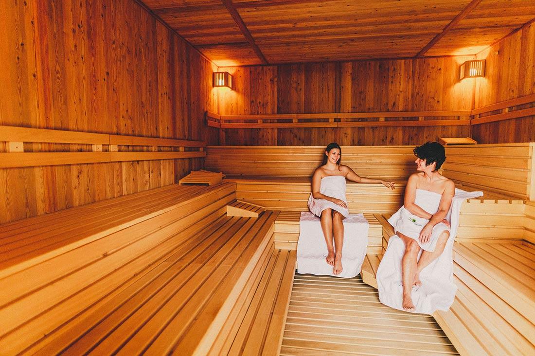 Finnische Sauna - Mona-Lisa Wettenberg