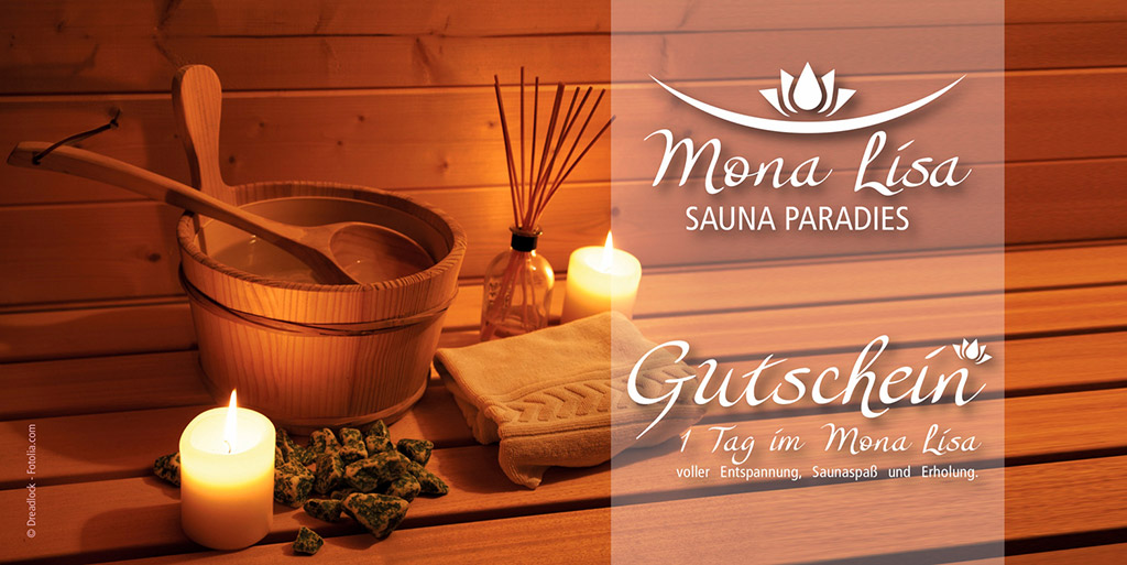Mona Lisa Gutschein - Sauna für Frauen